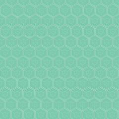 White hexagons bacground