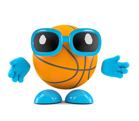 Basketball says hello