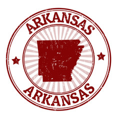 Arkansas stamp