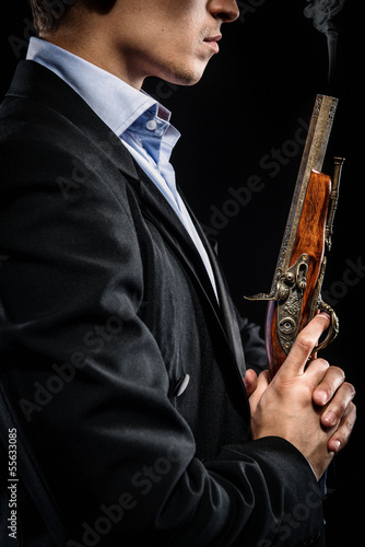 Man with musket