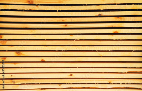 Stacked lumber background