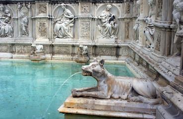 fountain in Siena