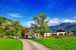 scenic Alpine countryside, Austria