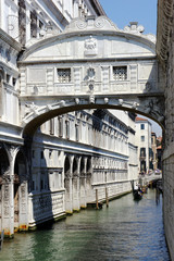 Bridge of Sighs - Ponte dei Sospiri. Venice