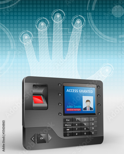Access - Biometric fingerprint reader 2