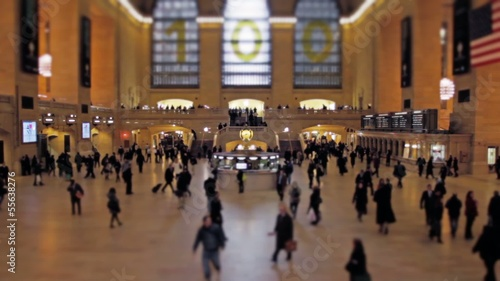 Timelapse Central station manhattan new york