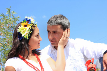 Lovely Ukrainian couple
