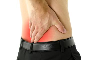 Lower back cramp