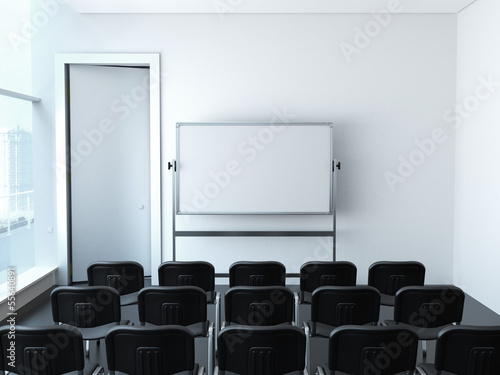 empty meeting room