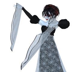 Evil vampire