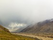 Rain in the mountains. Kirgystan, central Tien Shan