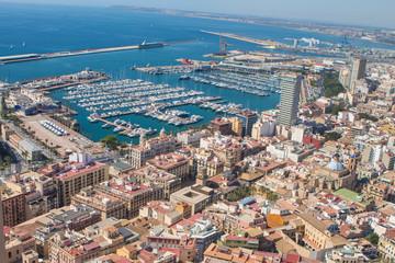 Alicante Hafen