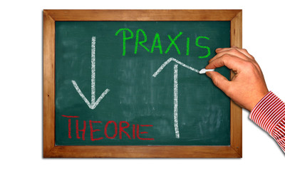 Kreidetafel II - Praxis - Theorie