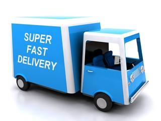 Super fast delivery - conveyance