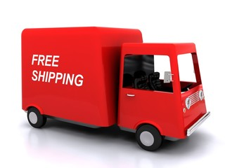 Free shipping - conveyance
