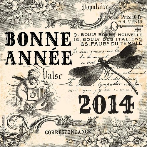 Vintage bonne année 2014
