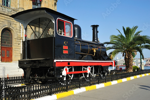 Old locomotive at Haydarpasha station