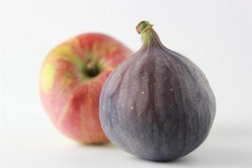 Apfel und Feige