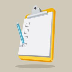 Clipboard with Checklist