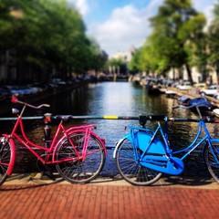 vélos sur le canal