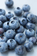 Blueberries, selective focus