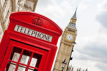 Phone booth. London, UK