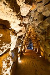 Nuraghe Santu Antine tunnel