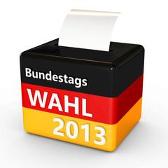 Bundestagswahl 2013 Vektor