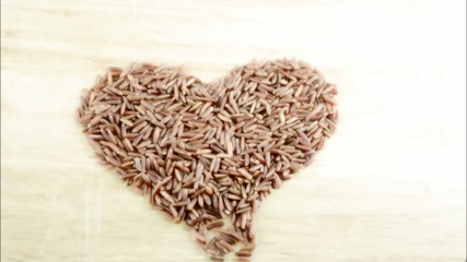 Healthy hearty brown rice stop motion [HD]