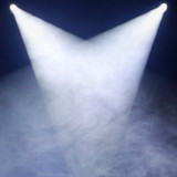 gray smoke and white disco dance theater light background - 55658257