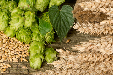 raw matereial for beer production