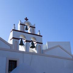 Church bells - Oia Town - Santorini- Greece