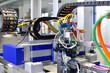 Leinwanddruck Bild - High Tech Industrieanlage