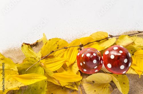 Herbstliches mit Glückspilzen