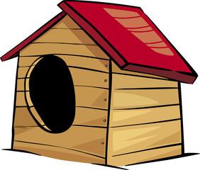 doghouse clip art cartoon illustration