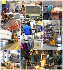 Industry Job´s Collage