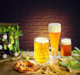 Bierverkostung im Bierkeller