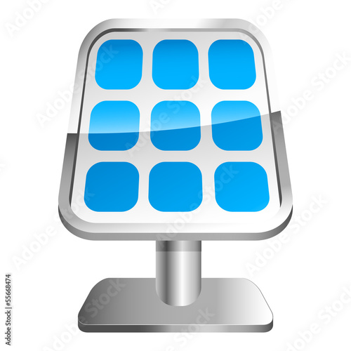 Solartechnik - 3D Icon