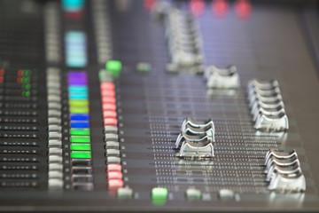 Audio sound mixer in concert