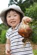 収穫の喜び