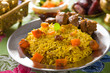 arabic rice, ramadan foods in middle east usually served with ta
