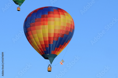 Fotobehang Ballon hot air balloon