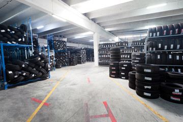 Tire stack interior