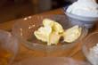 Butter auf dem Tisch