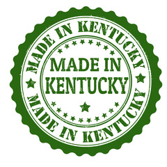 Made in Kentucky stamp