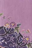 flower fabric texture, on cheongsam