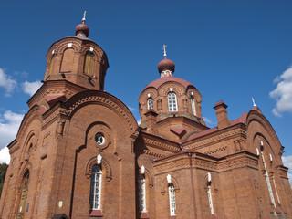 Orthodox church from Bialowieza