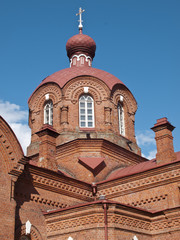 Dome of orthodox church from Bialowieza
