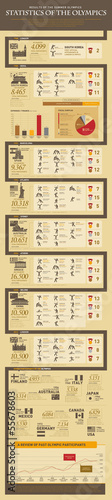 GIE0169 INFOGRAPHICS sports oylmpic