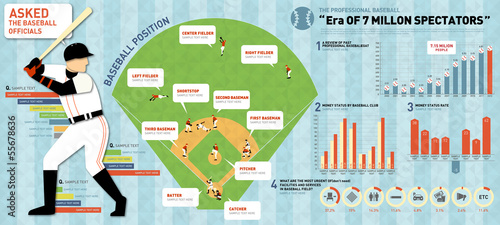 GIE0170 INFOGRAPHICS sports baseball